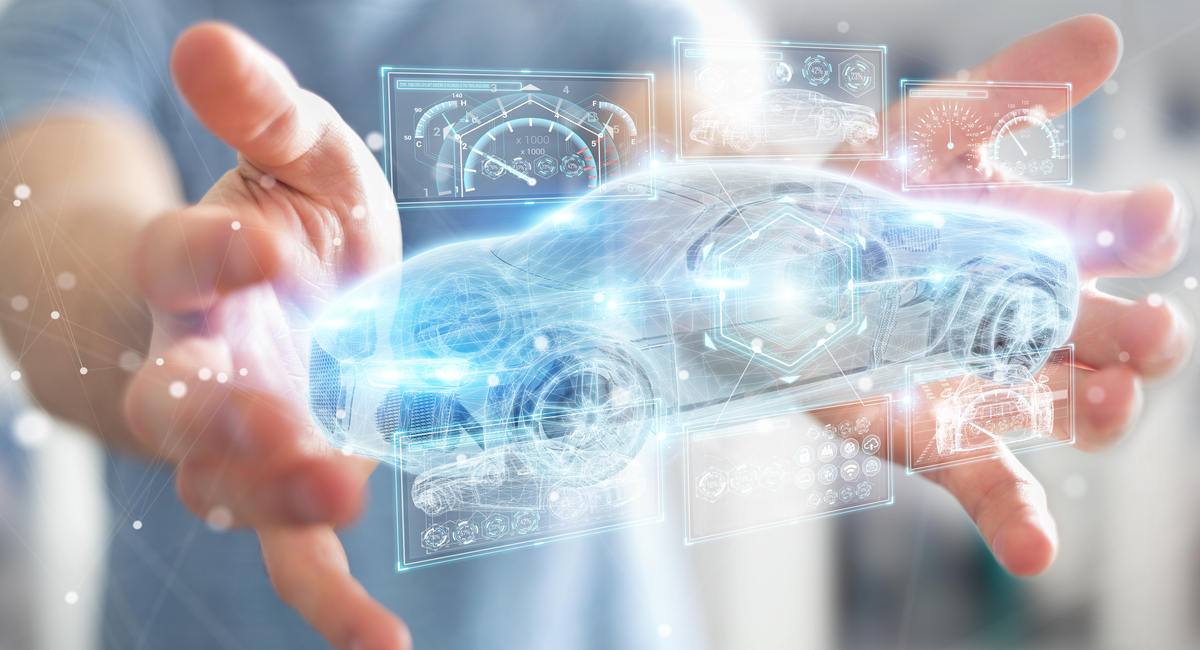 Automotive dashboards and sensors have many embedded chips